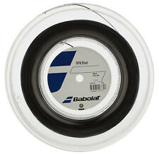 BABOLAT RPM BLAST Stringa di tennis - 1.30mm/16g - Nero - 200m Reel-GRATIS UK P & P