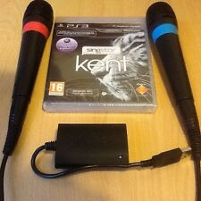 Singstar Kent Swedish Sweden Sony PS3 USB wired microphones Karaoke Singing Game
