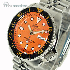 SEIKO PRO DIVERS 200m AUTOMATIC ORANGE FACE JUBILEE BRACELET SKX011J2 SKX011