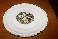 "The Harker Pottery Co 22 Kt Gold Trim 10.5"" Decorative Collector's Plate"