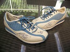 Michael Schumacher signed Ferrari Shoes, co-signed by Jean Todt