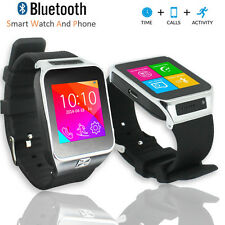 Unlocked! GSM Multimedia Wireless Bluetooth Watch Phone MP3 Spy Camera FM Radio