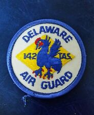 USAF US AIR FORCE DELAWARE AIR GUARD 142TH TACTICAL AIRLIFT SQUADRON PATCH