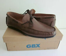 NEW GBX Henley Men's Slip On Loafers Shoes BROWN NEW in Box SZ 9