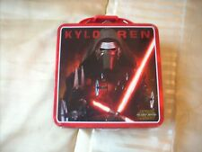 Star Wars Kylo Ren Square Lunch Box With Handle Tin Box