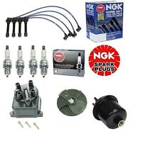 NEW Tune Up Kit Gas Filter,Cap,Rotor,NGK Wires & Plugs Civic EX 1.6