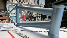 "FIT BMX 20"" bike FRAME BENNY L freestyle Fit 20.75"" TT 5.3LB silver ti bombd new"