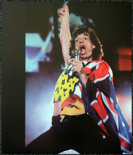 THE ROLLING STONES POSTER PAGE 1994 GIANTS STADIUM CONCERT MICK JAGGER . Y90