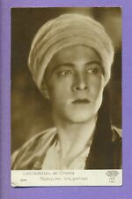 RUDOLPH VALENTINO # 244 VINTAGE PHOTO PC.PUBLISHER FRANCE  6014