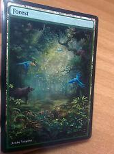 1x Forest #17 Extended Textless Full Art Custom Altered Basic Land MTG