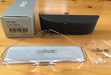 New Silhouette TMA The Must Collection 7611 Titanium Eyeglasses Grey Matte