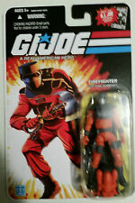 GI JOE 25TH ANNIV. FIGURE Barbecue v4 2008 MiB NEW BBQ Firefighter