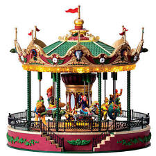Lemax Coventry Cove Jungle Carousel - Lights and Sounds New in Box