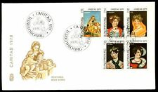 Luxembourg 1979 Glass Paintings FDC #C5638