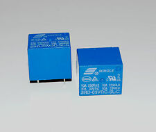 2pcs Mini 3V DC SONGLE Power Relay SRD-3VDC-SL-C PCB Type fast ship A059