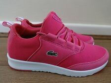 Lacoste Sport light PIQ trainers sneakers shoes Pink uk 4 eu 37 us 6 NEW