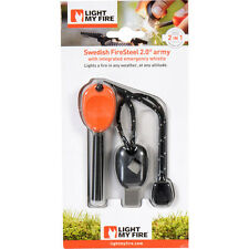 Fire Starter/ Fire Steel Any Weather Survival Camping Campfire by Light My Fire