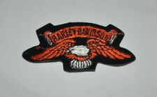 Vintage Harley Davidson Eagle Patch with Wings Spread Out