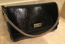 NWT Kate Spade Greer Bixby Place Black Crossbody purse bag Handbag Clutch