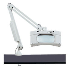 "LED Magnifier Lamp - Large 7"" x 6"" Lens 3-Diopter with LED lights (lm810)"
