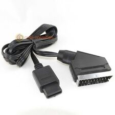 NINTENDO SNES, GAMECUBE AND N64 CONSOLE A/V TV VIDEO SCART CABLE