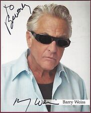 """Barry Weiss, """"Storage Wars"""" Star, Signed & Inscribed 8"""" x 10"""" Photo, COA"""