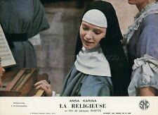 ANNA KARINA LA RELIGIEUSE JACQUES RIVETTE 1967 VINTAGE LOBBY CARD #2