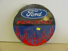 FORD RACING METAL SIGN