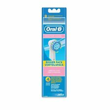 Braun Oral-B Sensitive Clean 4 Pack of Electric Toothbrush Heads [EBS17-4]