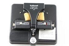 Hähnel Thermo-Kollmatic AM Motor-Filmklebepresse Splicer für Super 8 - NEU-OVP