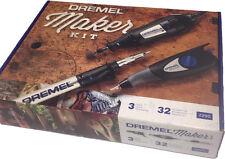 Dremel Tool Maker Kit Model 2290 Rotary Tool Series 200 Engraver 120 Volt 3 Tool