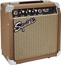 """Squier® SA-10 10-watt Tweed Acoustic Guitar Amplifier by Fender® - 6"""" Speaker"""
