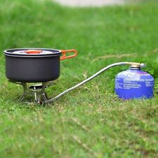 Portable Gas Stove Butane Propane Burner 3000W Outdoor Camping Hiking Picnic YK