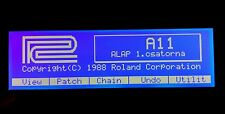 Roland W-30 A-50 A-80 D-70 S-50 JW-50 E-96 G-600 G-800 RA-800 Graphic Display !
