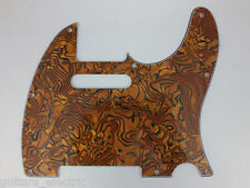 BRONZE SHELL effect SCRATCH PLATE Pickguard to fit Telecaster guitar