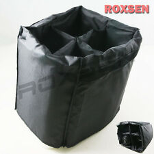 Portable Camera Inner Partition Padded Protector Case Bag 20cm x 15cm for 4 lens