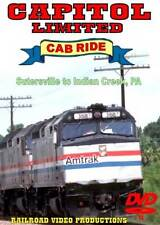Amtrak Capitol Limited Cab Ride DVD Part 4 Sutersville to Indian Creek F40PH NEW
