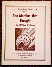 Vintage MACHINE THAT THOUGHT by RAYMOND ZINKE GALLUN Science-Fiction 1st ED BOOK