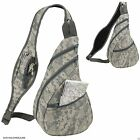 Digital Camo Army Military Sling Backpack Bags ACU Camouflage Single Strap 9