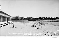 1930's Gooches Kennebunk Beach Breakwater Arlington Hotels Maine Negative #658