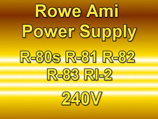 ROWE AMI JUKEBOX POWER SUPPLY R-80s R-81 R-82 R-83 Ri-2 - 240V Tested & Working