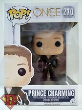 "PRINCE CHARMING Once Upon A Time Pop Television 4"" Vinyl Figure #270 Funko 2015"