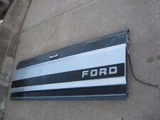 Vintage Used FORD Black Grey and Chrome Tailgate
