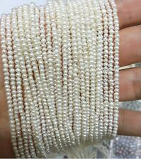 Special 2-3mm Bead Length 37cm Strand Bead Natural Real Pearl Bead Loose Bead