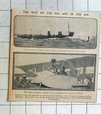 1915 Hm Destroyer Lark Help Class Avenge The Recruit Airmen Reconnoitre