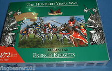 ACCURATE 7207 FRENCH KNIGHTS - HYW. 35 x 1/72 SCALE UNPAINTED PLASTIC FIGURES