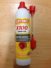 SENTINEL X100 INHIBITOR Rapid-Dose *** New System***