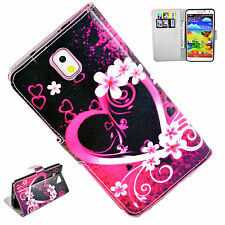 Book Flip Wallet Leather Soft Gel Case Cover For Samsung Galaxy Note 3 III N9000