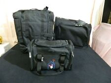 New High End Sedona Golf Travel/Carrying Bag System III Set of 3 Bags/Luggage