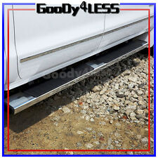 "01-17 Silverado Sierra Crew Cab 6"" Nerf Bars Side Step OE Style Running Boards"